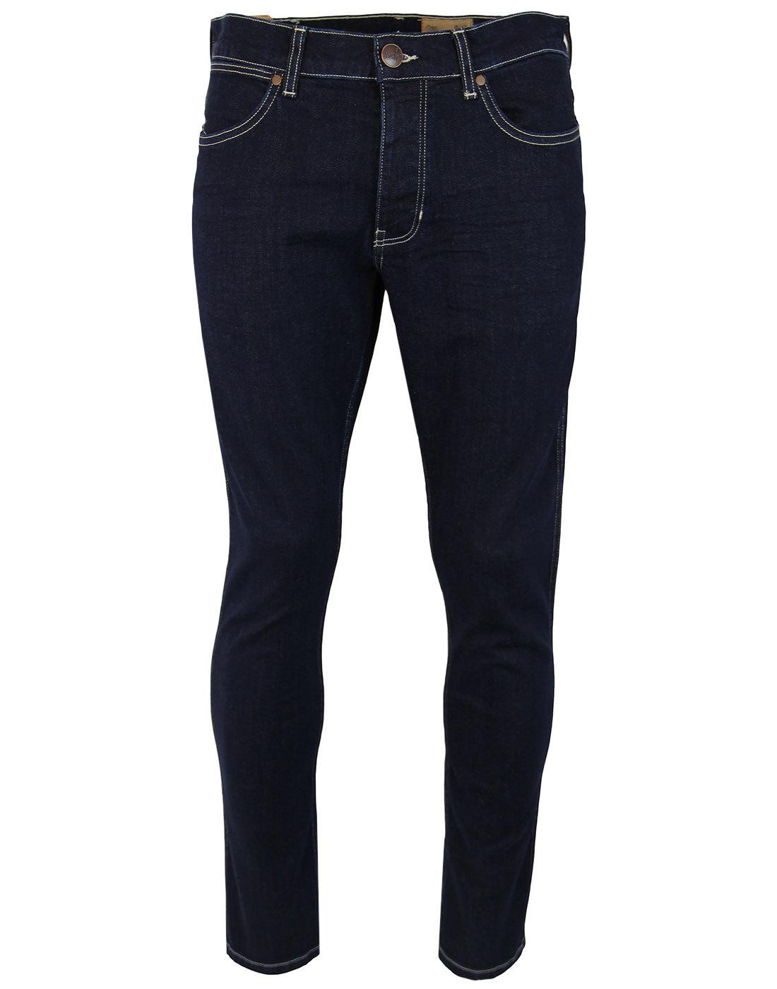 Spencer WRANGLER Retro Mod Slim Dark Denim Jeans