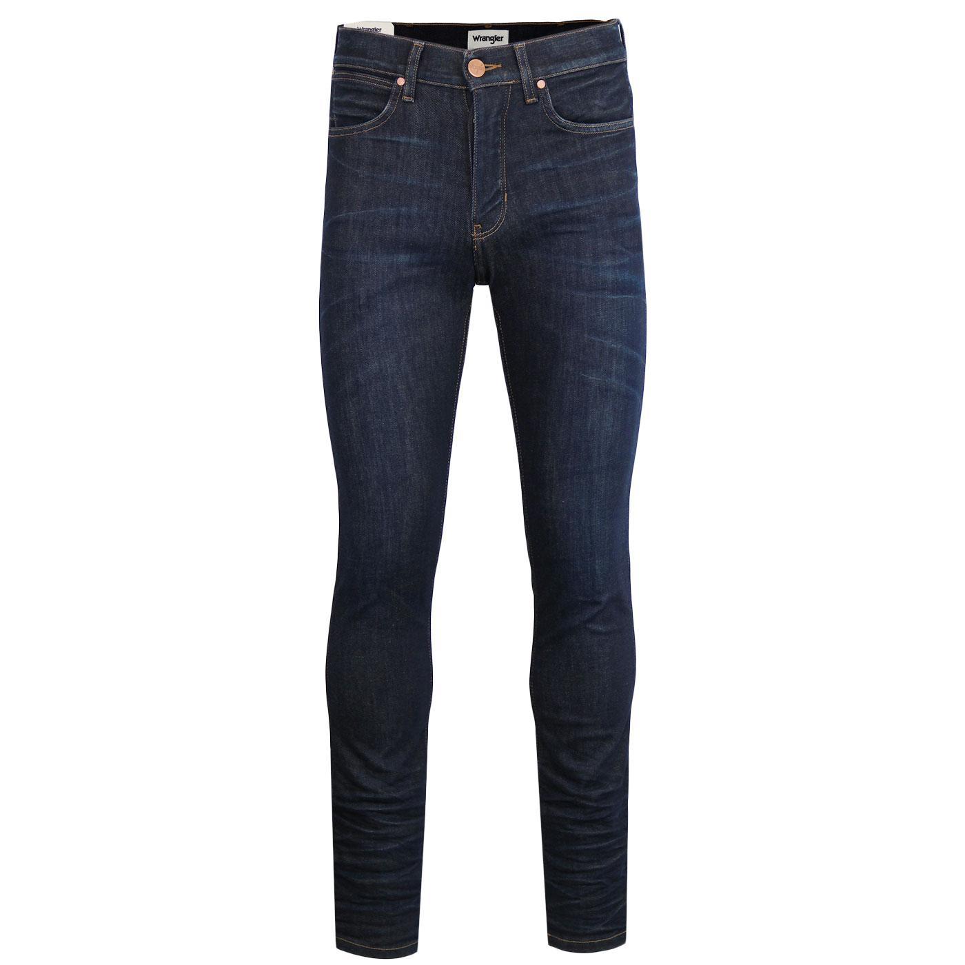 Spencer WRANGLER Retro Mod Slim Denim Jeans RINSE