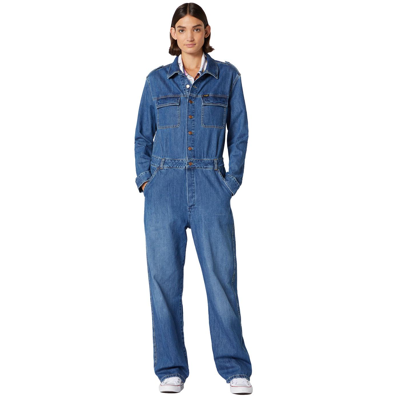 WRANGLER Women's Utility Jumpsuit - Summer Breeze