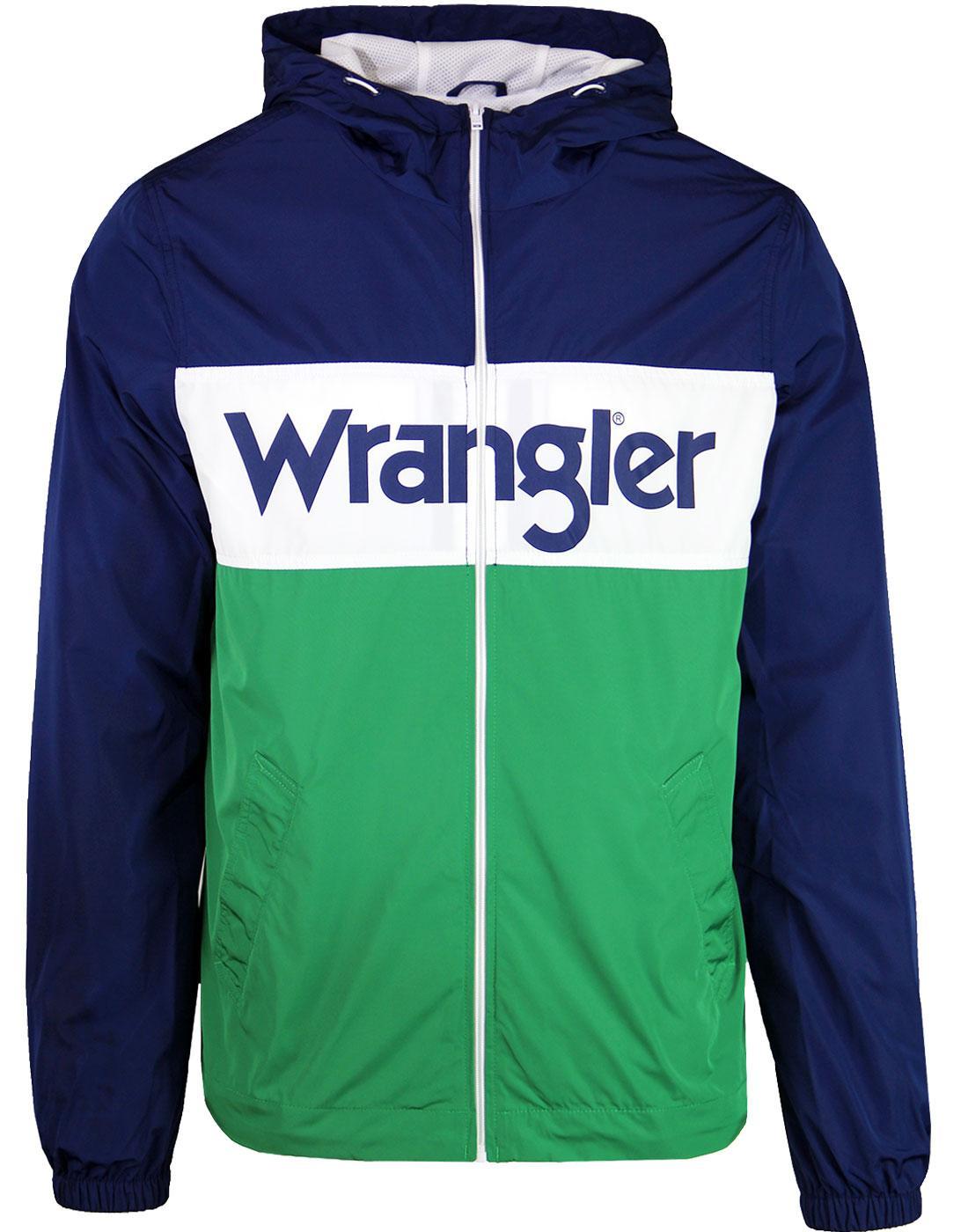 Wally WRANGLER Retro Indie Windbreaker Jacket