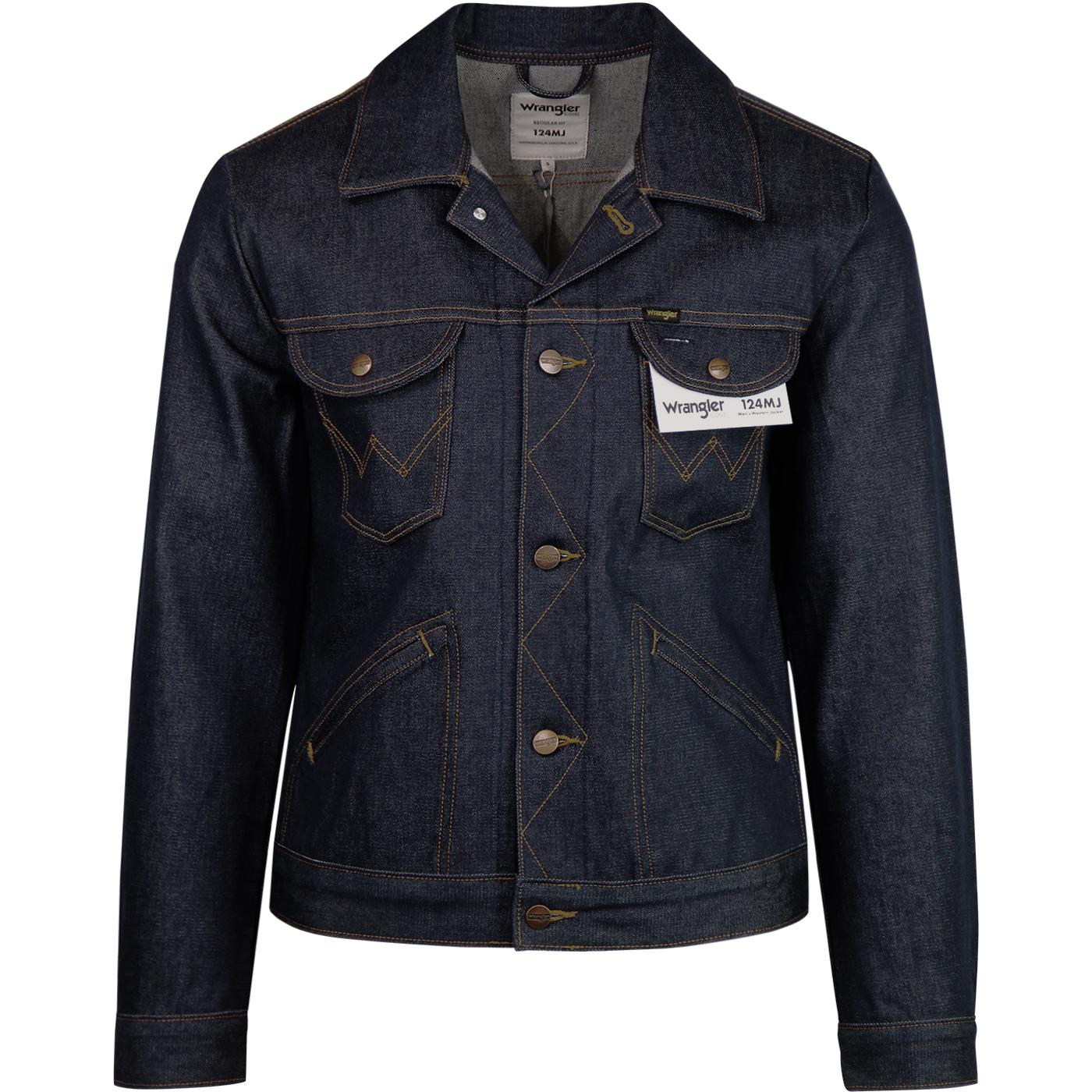 124MJ WRANGLER 60s Mod Men's Denim Western Jacket