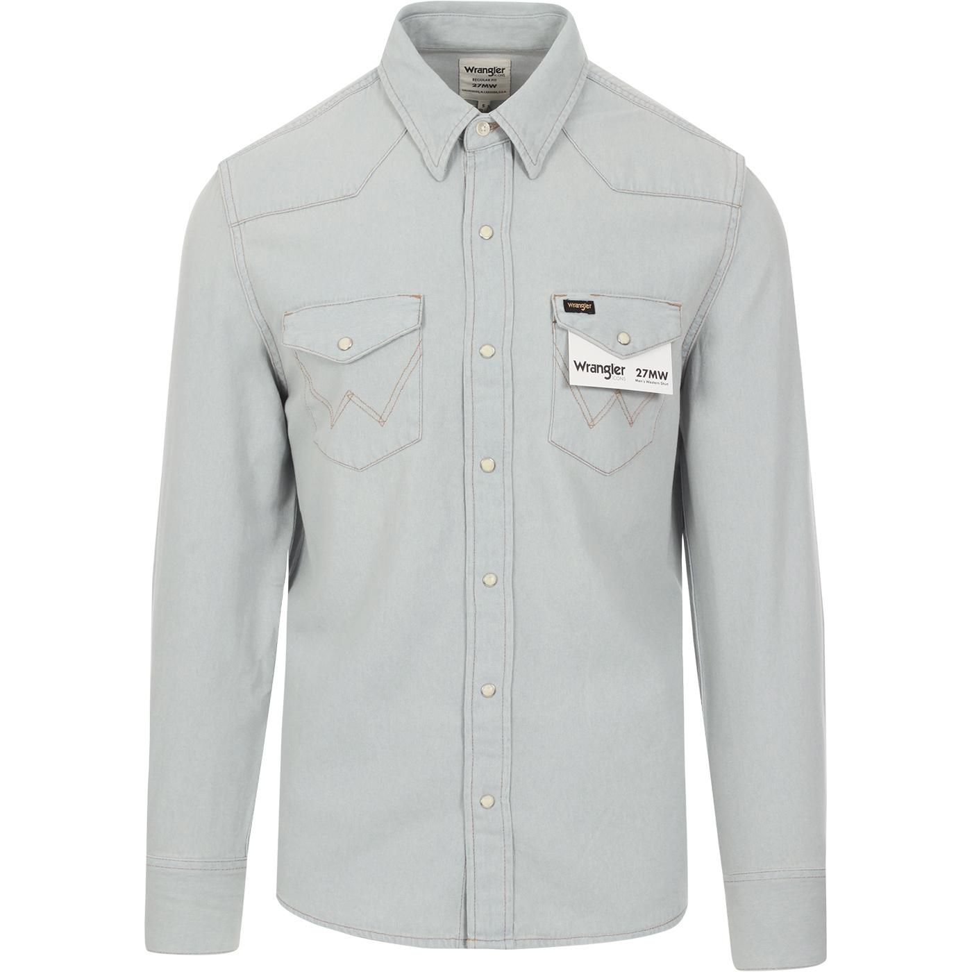 WRANGLER Icons 27MW Denim Shirt (Blue Rhapsody)