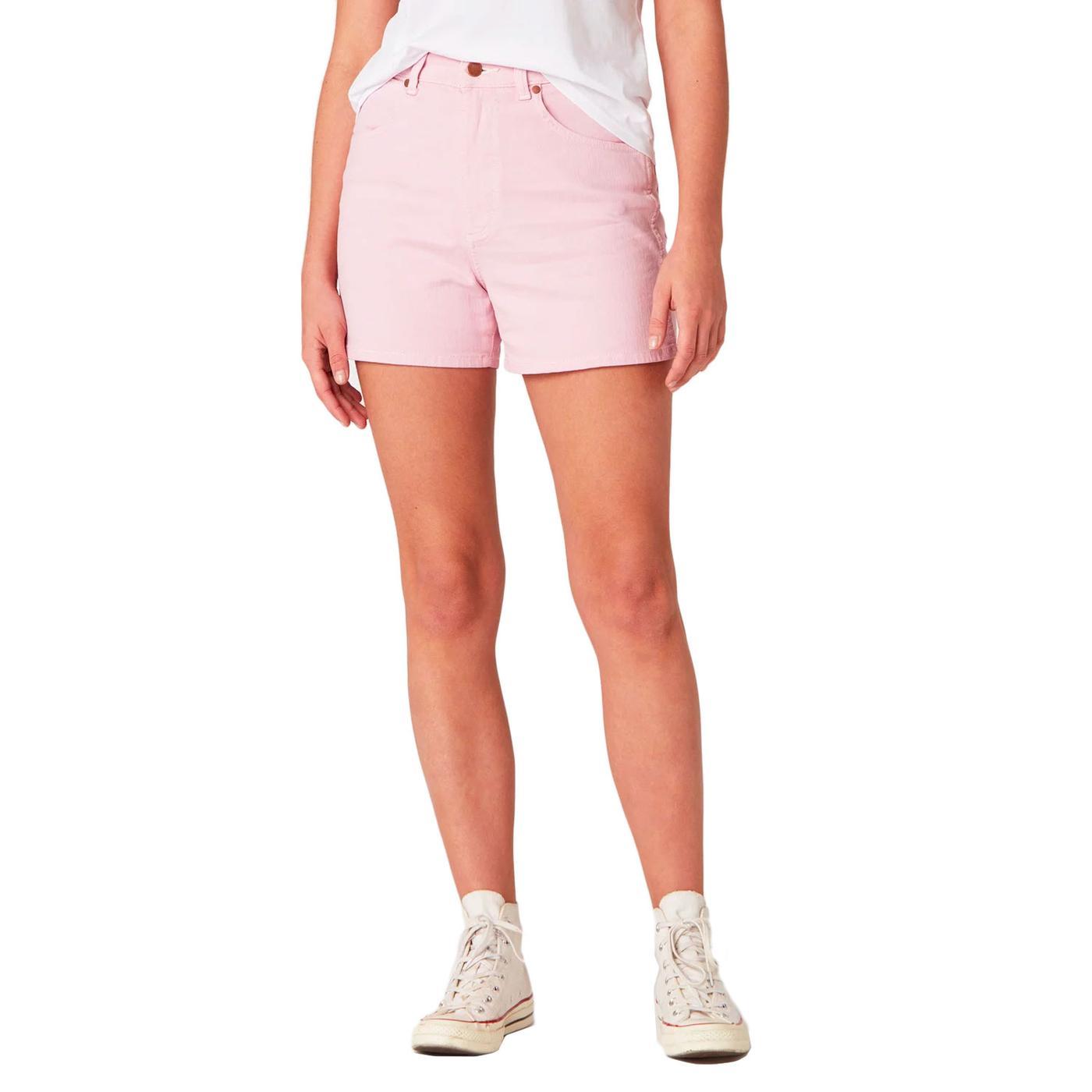 WRANGLER Women's Retro 60s Mom Summer Shorts PINK