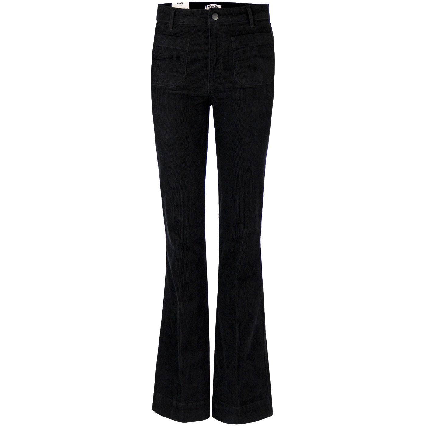 WRANGLER Women's 70's High Waist Cord Flared Jeans