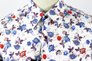 Columella 1 LIKE NO OTHER Floral Jacquard Shirt