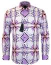 Admiral 1 LIKE NO OTHER Retro 80s Geometric Shirt