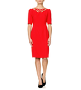 Frances FEVER Retro Vintage 40s style Dress (Red)