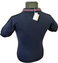 'Kirk' AERTEX Retro Mod Mens Aerated Polo Shirt N