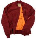 MA1 TT ALPHA INDUSTRIES Retro Mod Bomber Jacket B