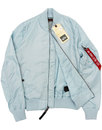 MA1 TT ALPHA INDUSTRIES Womens Bomber Jacket AIR
