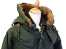 Vintage Fishtail ALPHA INDUSTRIES Mod M65 Parka O