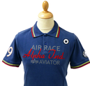 Aviator ALPHA INDUSTRIES Retro Mod Tipped Polo Top