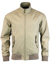BARACUTA G9 Baratex 3L Harrington Jacket - Beige