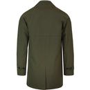 BARACUTA G10 Made in England Mac Coat (Chestnut)
