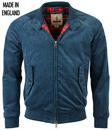 BARACUTA G9 MOD CORD HARRINGTON W/ LIGHT PADDING