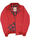 BARACUTA G9 Mod 60s Harrington Jacket - Dark Red