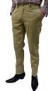 BARACUTA MENS MOD BELL CHINO TROUSERS RETRO