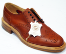 BARACUTA RETRO MOD MADE IN ENGLAND BROGUE SHOES