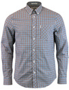 BEN SHERMAN 60S MOD HERITAGE HOUSE CHECK SHIRT