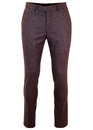 BEN SHERMAN Tailoring Mod Donegal Suit Trousers