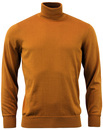 BEN SHERMAN RETRO 60S MOD ROLL NECK JUMPER