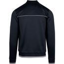 BEN SHERMAN Men's Tricot Polo Collar Track Top (N)