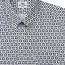 BEN SHERMAN Retro Mod Distressed Wallpaper Shirt W