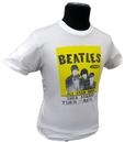'Beatles Poster' - Sixties Tee by BEN SHERMAN (Wh)