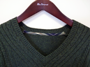 BEN SHERMAN Retro Cable knit Fishermans Jumper PG