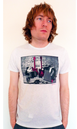 Rock and Roll BEN SHERMAN Mens Retro Indie T-Shirt