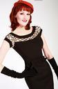 Alika Pencil Dress TATYANA Retro 50s Dress (B)