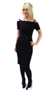 BETTIE PAGE ELEGANCE DRESS VINTAGE RETRO FIFTIES