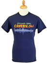 CAVERN CLUB T-SHIRT MENS LIVERPOOL SKYLINE RETRO