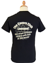 CAVERN CLUB Triangular Logo Retro 60s Mod T-Shirt