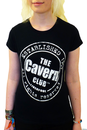 CAVERN CLUB Stamp Logo Retro Womens T-Shirt (B)