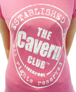 CAVERN CLUB Stamp Logo Retro Womens T-Shirt (P)