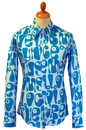 Moloko CHENASKI Retro Sixties Pop Art Mod Shirt T