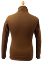 'UFO' CHENASKI Retro Sixties Mod Turtleneck Jumper