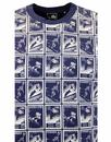 Ski Stamps CHUNK Retro Vintage Philatelist T-Shirt