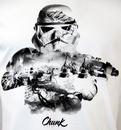 CHUNK Star Wars Storm Trooper Montage Retro Tee