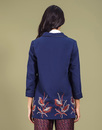Elaine DARLING Retro Vintage Embroidered Coat