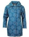 DARLING KIRSTEN KIRIGAMI RETRO COAT TEAL