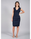 DARLING TESSIE RETRO MOD POLKA DOT FITTED DRESS