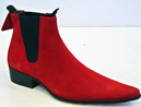 DELICIOUS JUNCTION RETRO MOD BEATLE BOOTS SUEDE 60