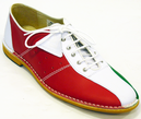DELICIOUS JUNCTION NORTHERN SOUL MOD BOWLING SHOES