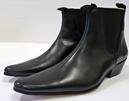 RETRO MOD MENS CHELSEA BOOTS SIXTIES BEATLE BOOTS