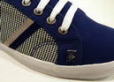 Terrace DUNLOP Mens Dogtooth Retro Mod Trainers