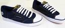 DUNLOP GREEN FLASH DENIM TRAINERS RETRO TRAINERS