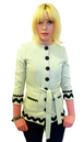 'Dezi' - Retro Womens Tunic Jacket by EC STAR