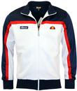 ELLESSE MORESCO RETRO 80S STRIPE PANEL TRACK TOP